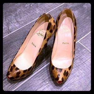 Christian Louboutin Animal Print Heels